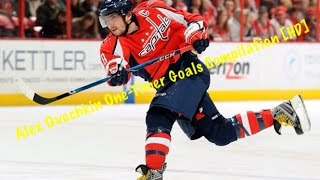 Alex Ovechkin One - Timer Goals Compilation [HD]