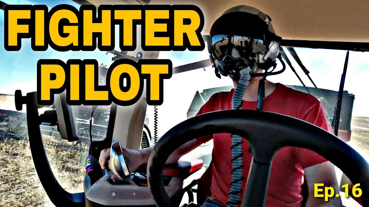 F-22 Fighter Pilot Drives My Tractor?