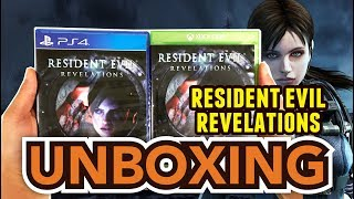Resident Evil Revelations (PS4/Xbox One) Unboxing !!