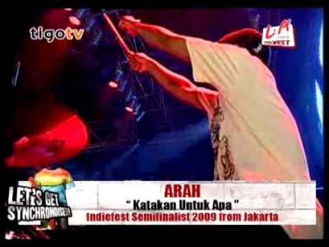 aRah band - katakan untuk apa live 2009