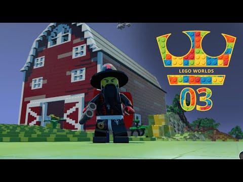 Jirka Hraje - Lego Worlds 03 - Farma je zpět!