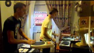 david simarro & david sanchez percusion electrónica
