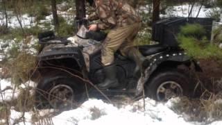 покатушки на квадроцикле и рыбалка за 15 минут(в этом видео представлена наша поездка на квадроцикле cf moto x6 по лесам и болотам нашей местности а финишем..., 2015-12-18T19:42:33.000Z)