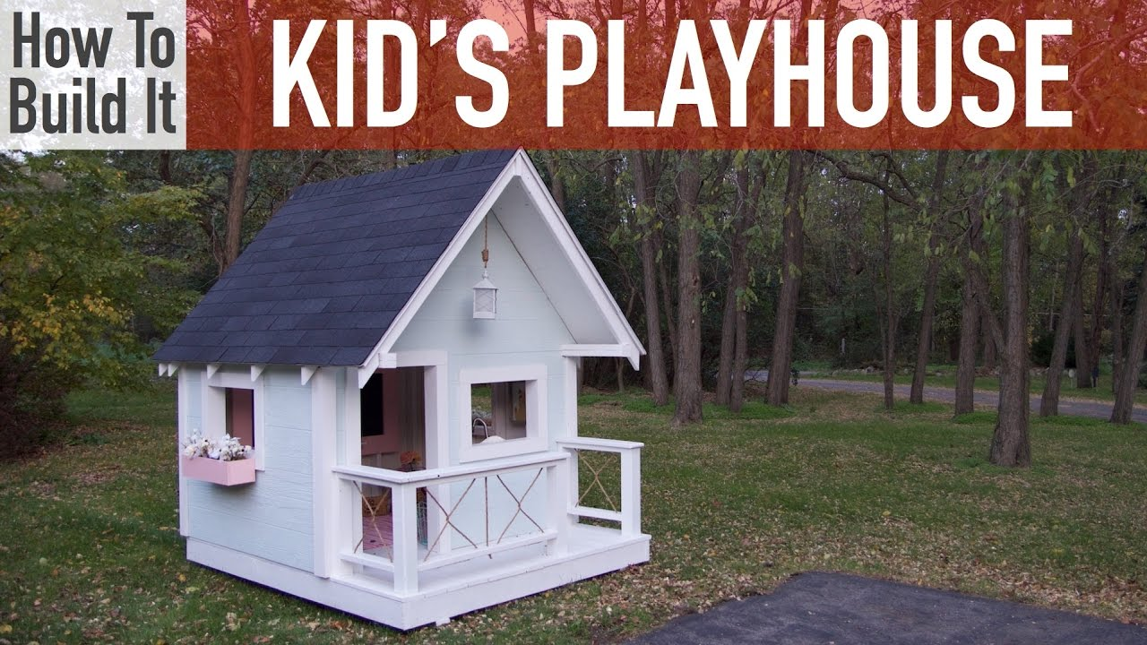 Do It Yourself Home Design: How To Build A Kid's Playhouse