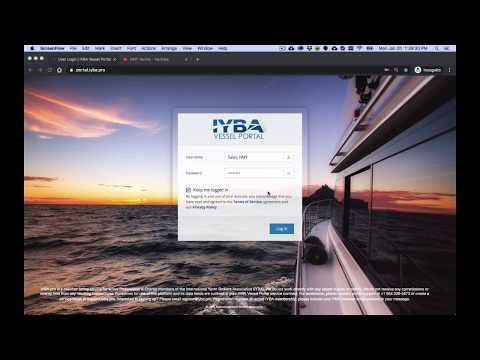 How To Create & Edit Vessels in IYBA Vessel Portal.