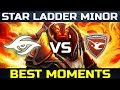 SECRET vs Mouz - EU Qualifiers - StarLadder Minor - Dota 2