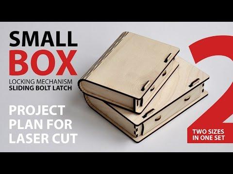 Box with sliding bolt latch – Cartonus