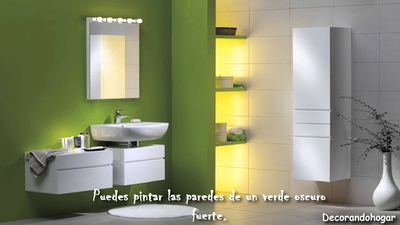 Decoración de Baño con colores intensos - YouTube