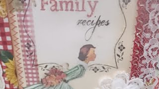 Retro Cook Book In My Sister's Shop #Etsy Restock