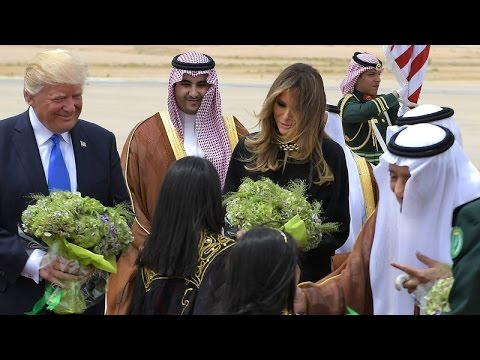 President Donald Trump Saudi Arabia Welcome Ceremony #1