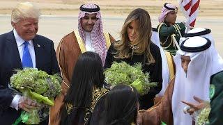 President Donald Trump Saudi Arabia Welcome Ceremony #1