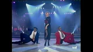 Kylie Minogue Word Is Out Live Rockopop TV Spanish 1991 HD