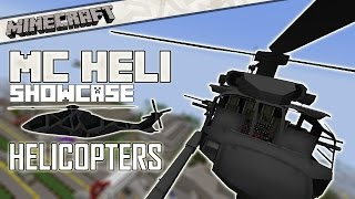 [1.7.10] Minecraft: MC HELI Showcase: The Ultimate Aircraft Mod - Helicopters