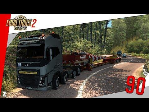 🚚Euro Truck Simulator 2 | L'Hebdo du Routier #90 Convoi exceptionnel + nouveaux mods