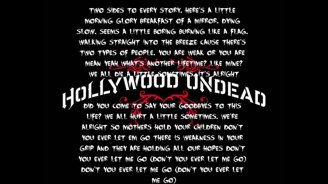 Hollywood Undead Outside Lyrics Youtube