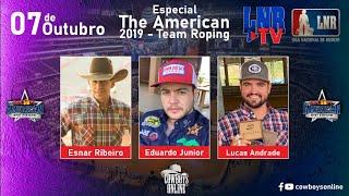 Programa LNR TV 07/10/2020 The American 2019 - Team Roping