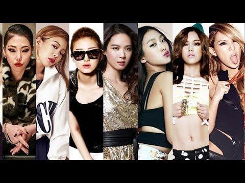 Top 20 Korean Female Rappers