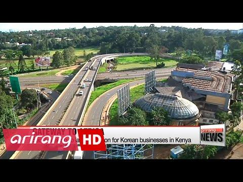 Korea-Kenya summit focuses on business cooperation