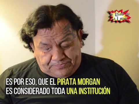 El trágico accidente del Pirata Morgan que lo orilló a perder un ojo