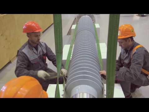 Video instruction «Izolyator high-voltage RIP bushings installation»
