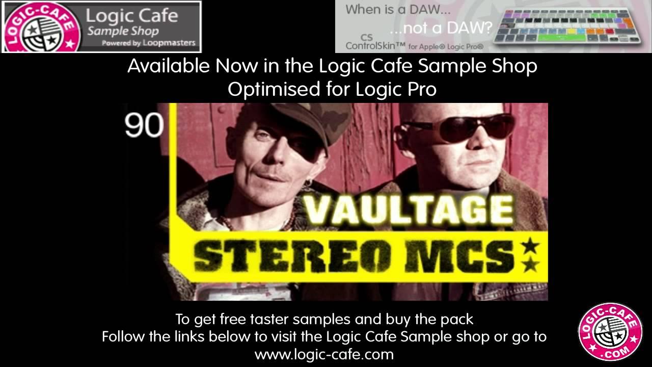 Stereo MC's Sample Pack for Logic Pro #1