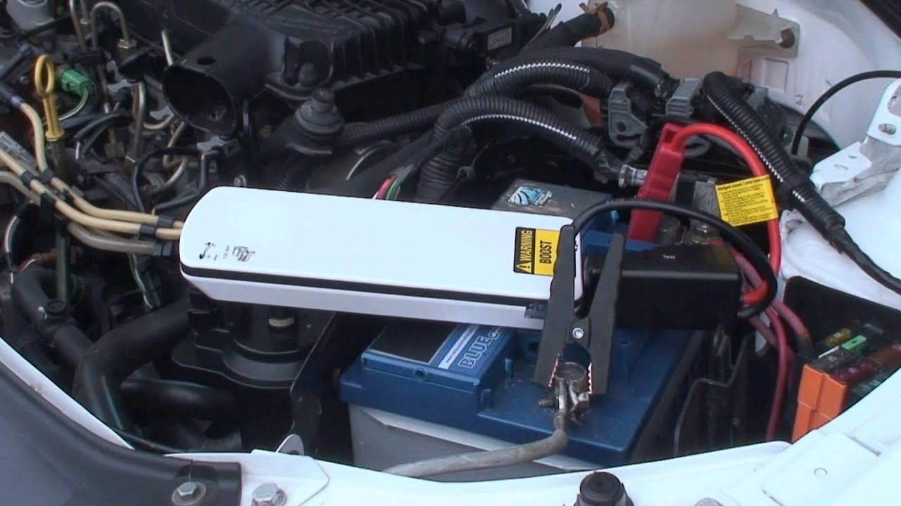 how to boost 12v vehicle batteries with a lithium booster youtube. Black Bedroom Furniture Sets. Home Design Ideas