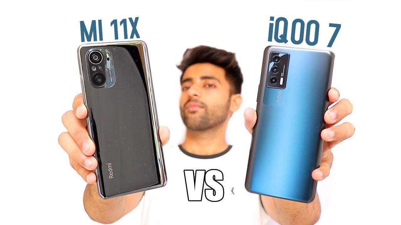 iQOO 7 vs Mi 11x