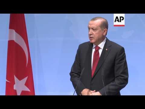 Erdogan speaks out against Qatar sanctions
