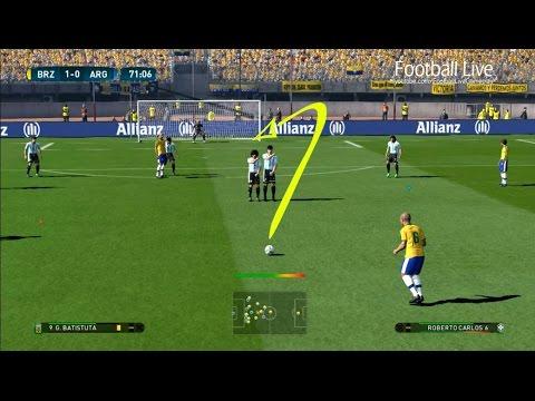 PES 2017 | Amazing Free Kick Goals Roberto Carlos 35m, 38m