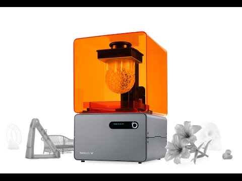 3D Printer - FORM 1 - YouTube