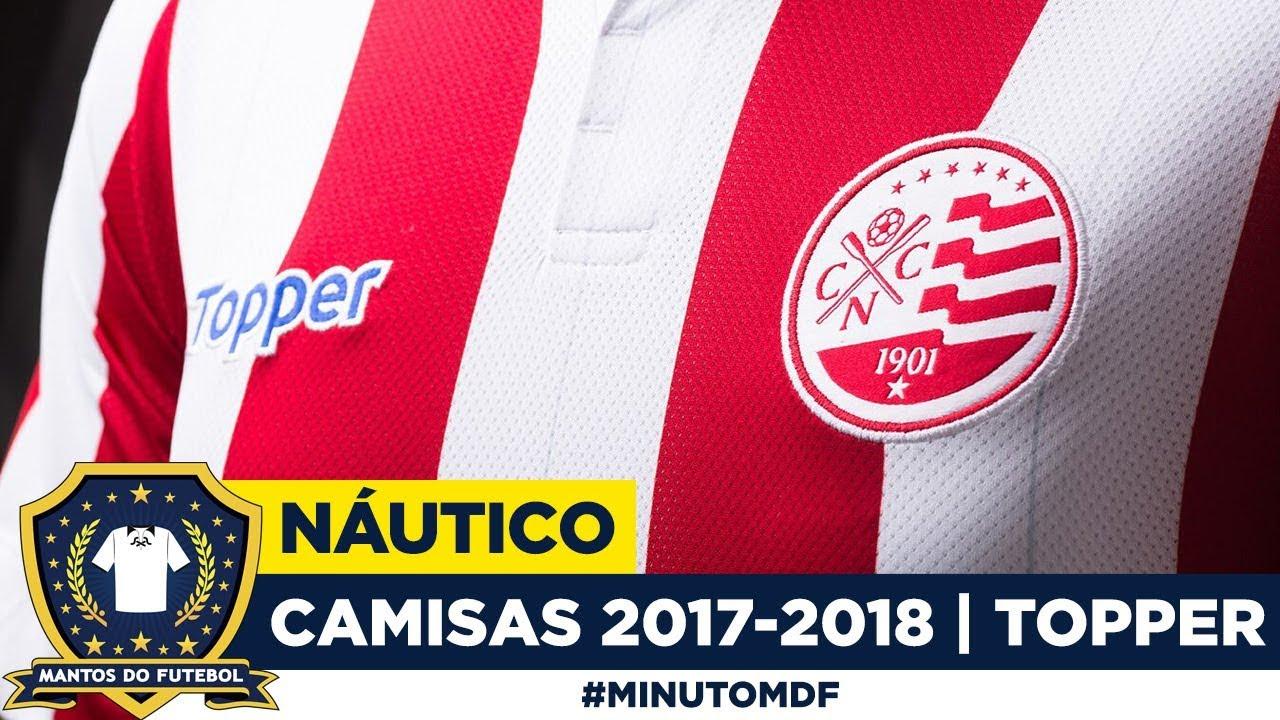 cebdf5b3a Camisas do Náutico 2017-2018 Topper - YouTube