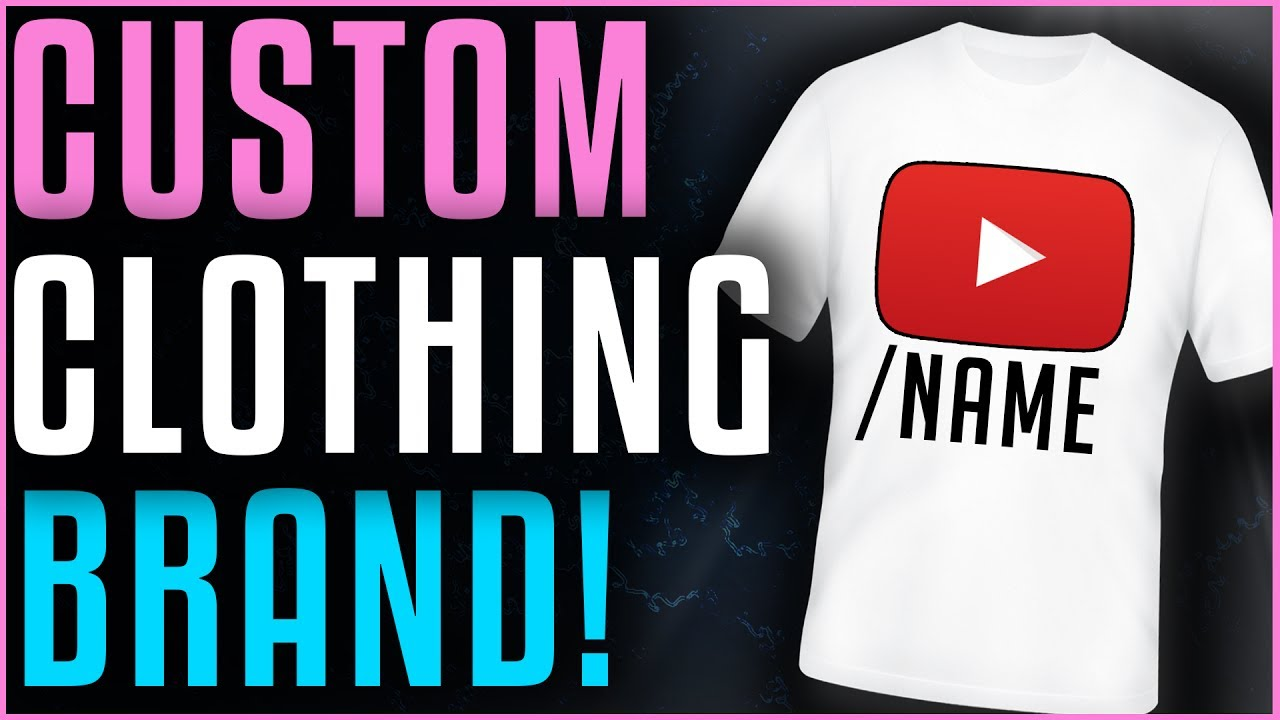 How To Make A Custom Clothing Line Cheap Easy 2017 Youtube