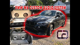 BMW X6 Custom Sound System