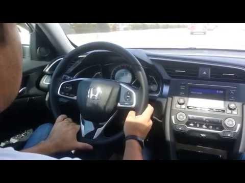 Yeni Civic 2016 Test Sürüşü