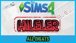 Sims 4 Kullandığım Hileler + Hile Kodları Uygulaması - The Sims 4 Türkçe