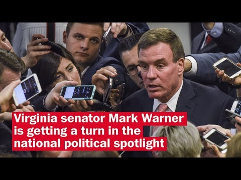 Trump-Russia probe thrusts Mark Warner into the national spotlight