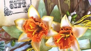 Daffodils With Botanic Orchid die by Heartfelt Creations