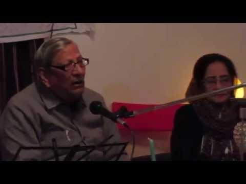 Manzar Ayubi in Mushaira Balkhi Farm in Toronto