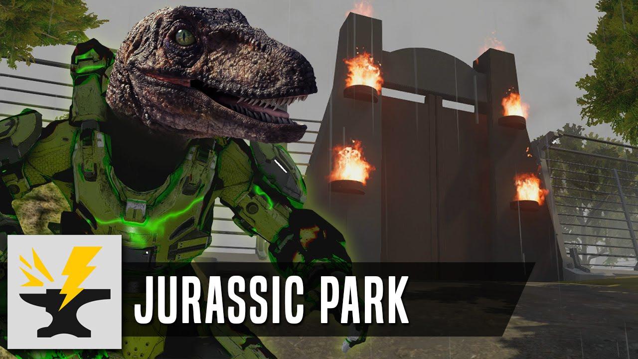 Jurassic park halo 5 forge map youtube gumiabroncs Choice Image