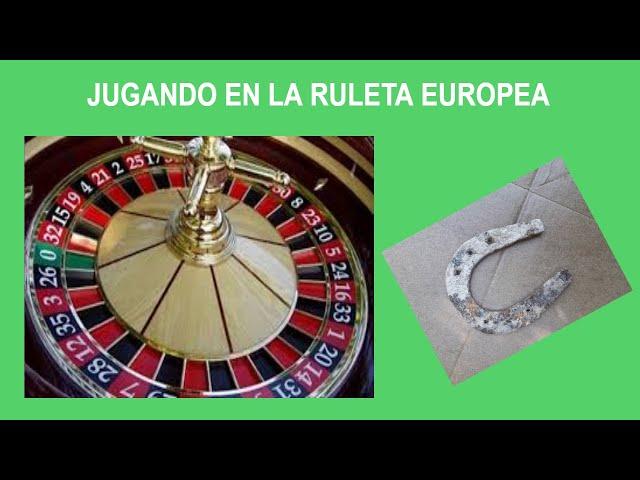 50€ A 243€ Ganancia en secciones cortas Jugando en la Ruleta Europea / Casino
