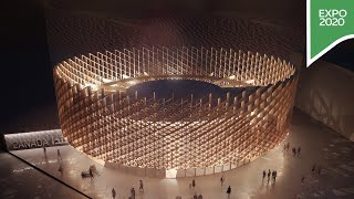 Step inside the Canada Pavilion at Expo 2020