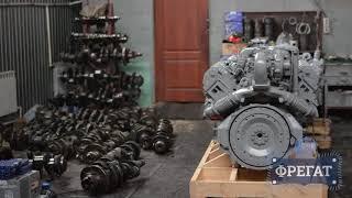 Капитальный ремонт двигателя ЯМЗ