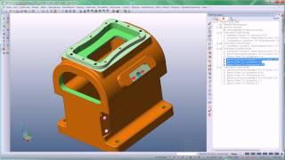 VISI Machining - Produktvideo ''2,5D Mehrseitenbearbeitung und Bohren''