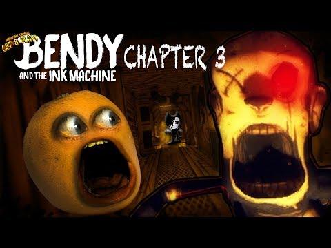 Bendy & the Ink Machine - CHAPTER 3: #2 [Annoying Orange SHOCKTOBER]