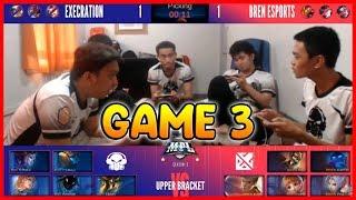GRABE YUNG PAUNAHAN MAKAPUSH! EXE VS BREN GAME 3