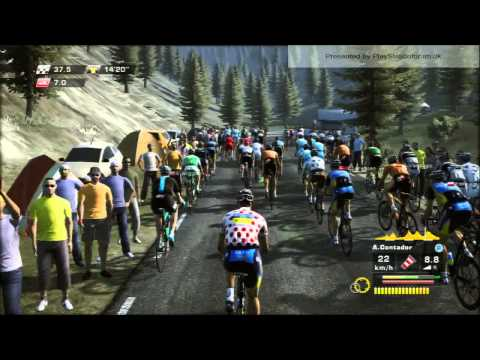 Tour De France 2013 - PS3 - [ Saint-Girons - Bagneres-de-Bigorre] - STAGE 9 - Contador Crash 2 times