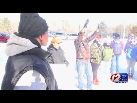 Narragansett Tribe Protest