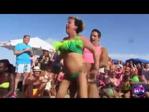 Beach_festival__hot hot miss south Africa 2018 funny video Haryanvi Hammer thumbnail