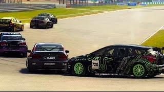 GRID Autosport Рядом с бампером