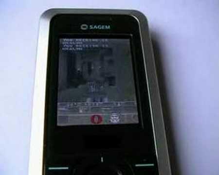 quake on sagem linux phone